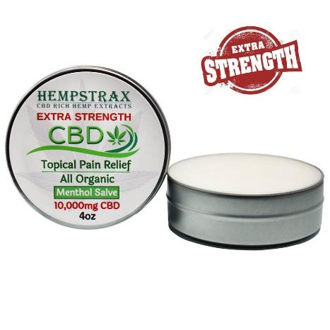 Hempstrax Extra Strength 10,000mg Topical Salve