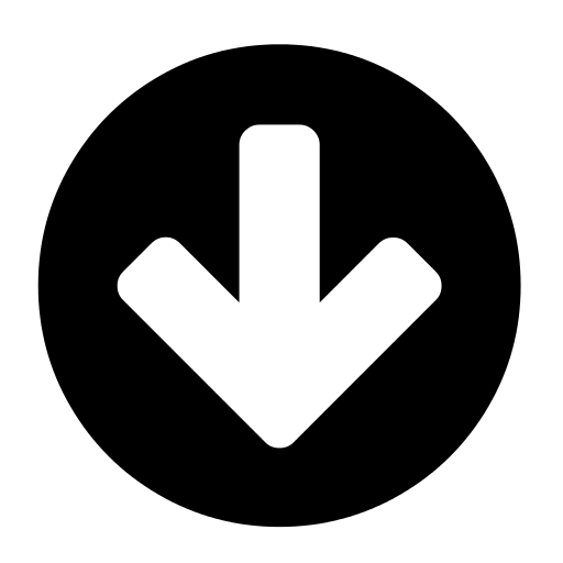 File:Circle arrow down font awesome.svg - Wikimedia Commons