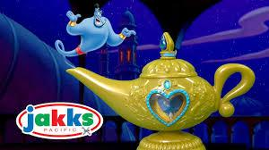 Disney Princess Aladdin Magic Genie Lamp from Jakks Pacific - YouTube