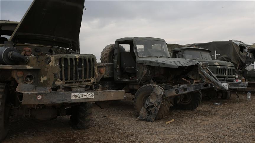 $4.8B worth of Armenian arms destroyed in Karabakh war