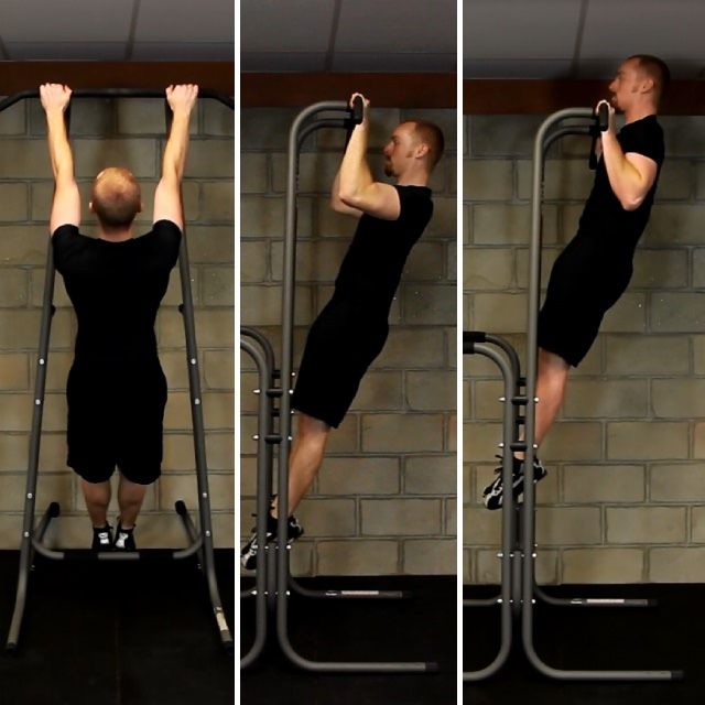 Move # 6 Pull-up w/ Isometric Hold