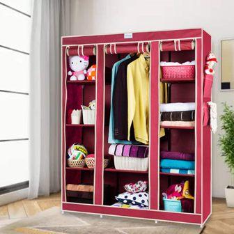 CbeeSo Fabric Best Foldable Wardrobe