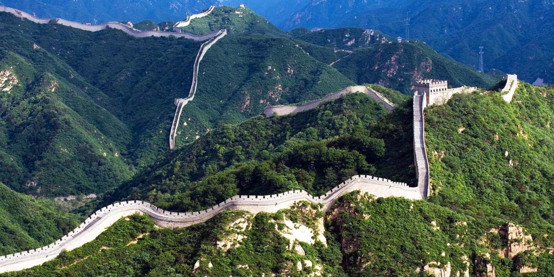 As maiores construções do mundo: muralha da china