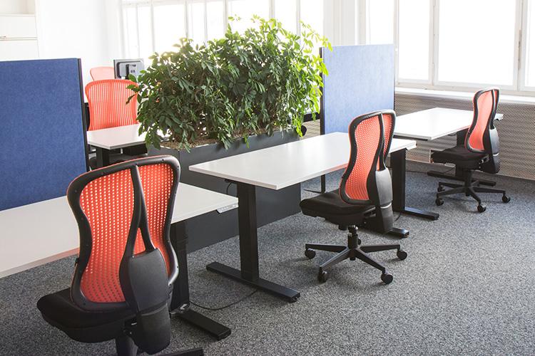 Impression of coworking space Dreispitz Coworking