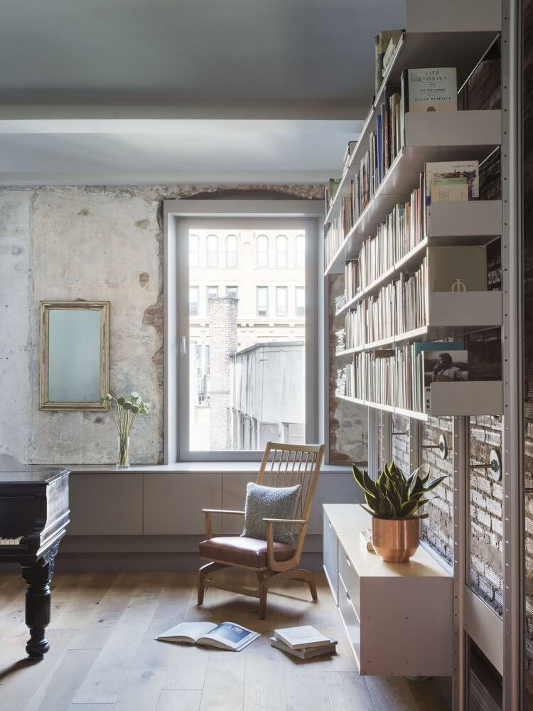 Decorate an original home library
