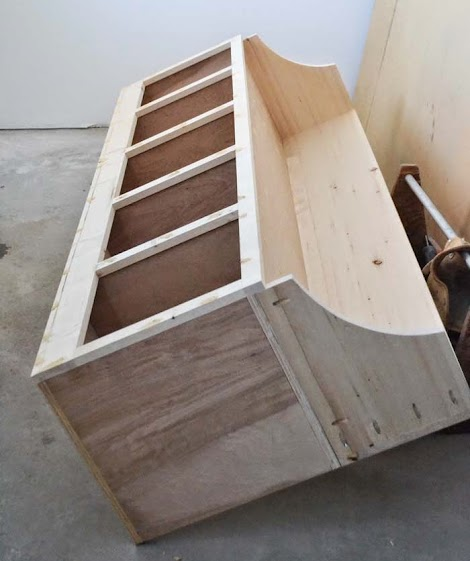 how to build a shoe cubby