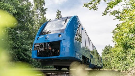 Em 2018, Alstom inaugurou primeiro trem movido a hidrogênio no mundo.(Fonte: Alstom/Divulgação)