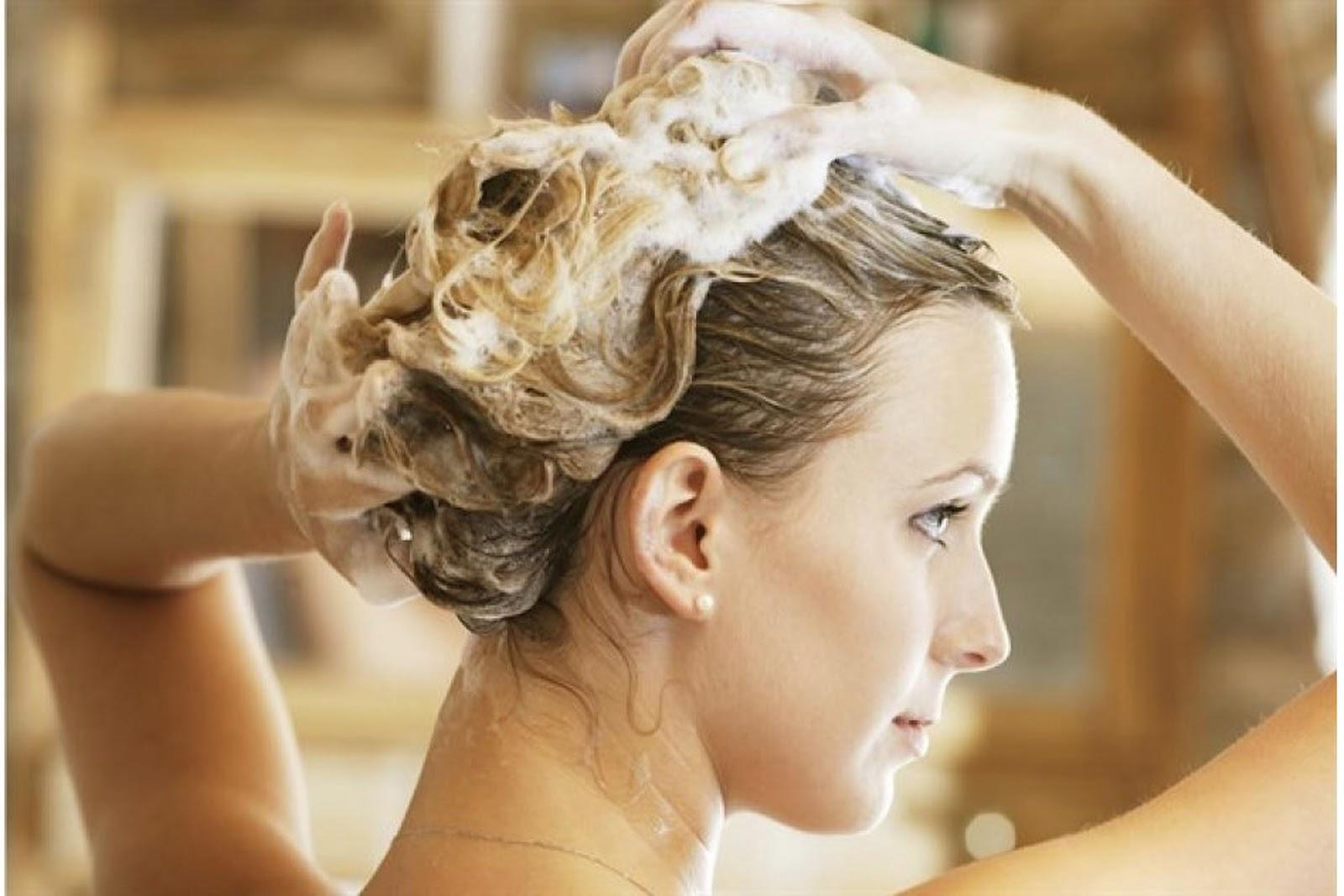 Gội đầu không đúng cách sẽ khiến tóc trở nên khô xơ và chẻ ngọn