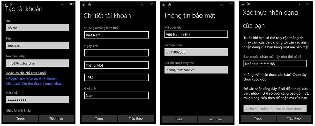 Mua ứng dụng Windows Phone bằng thẻ TRUSTcard - 130005