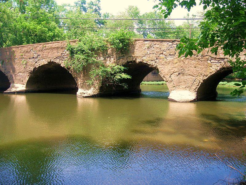 File:The 1789 Bridge at The Kingston Gristmill, Princeton, NJ, USA - panoramio.jpg