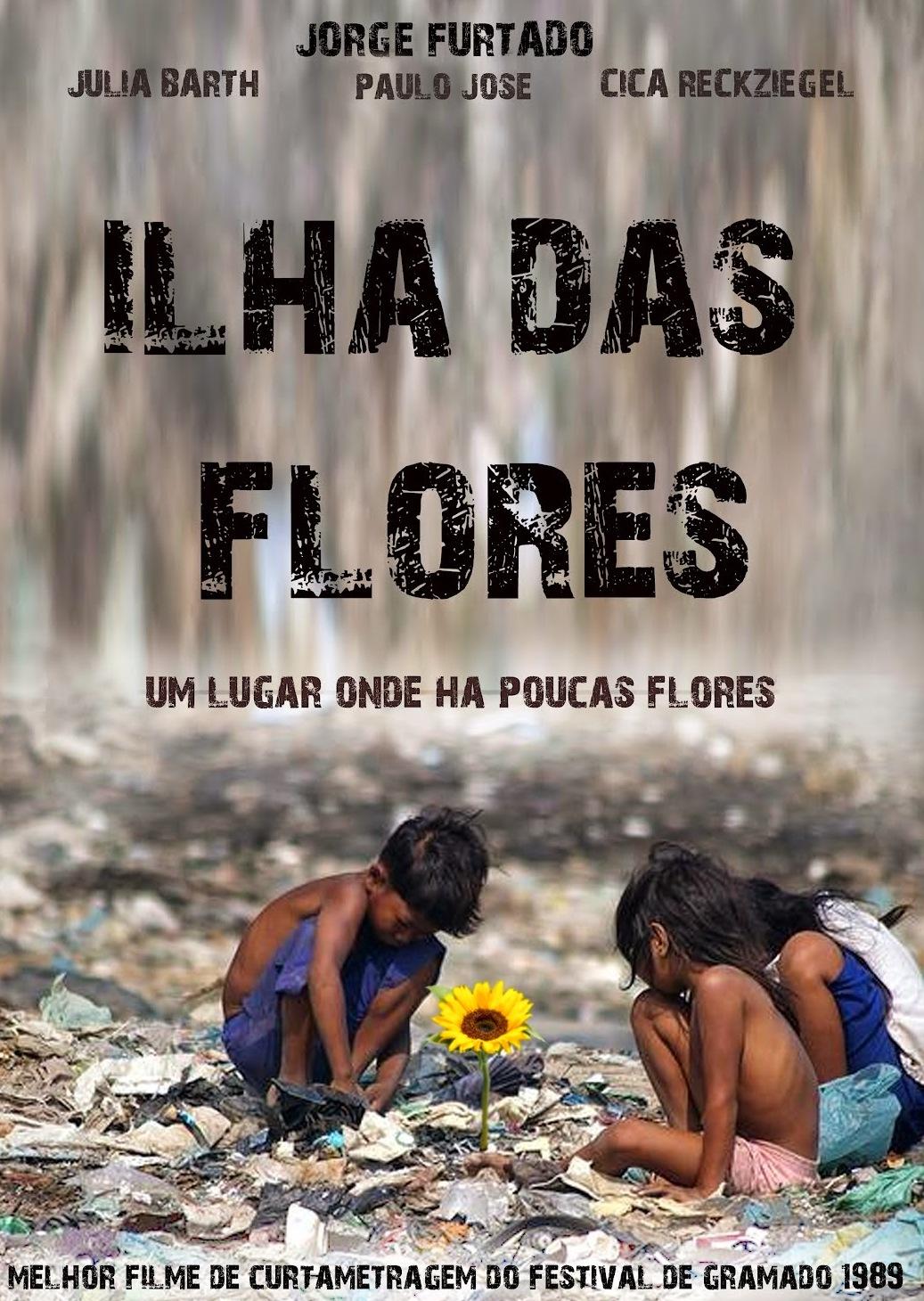 """CURTAS_CLÁSSICOS! >>> """"ILHA DAS FLORES"""" DE JORGE FURTADO (1989 ..."""