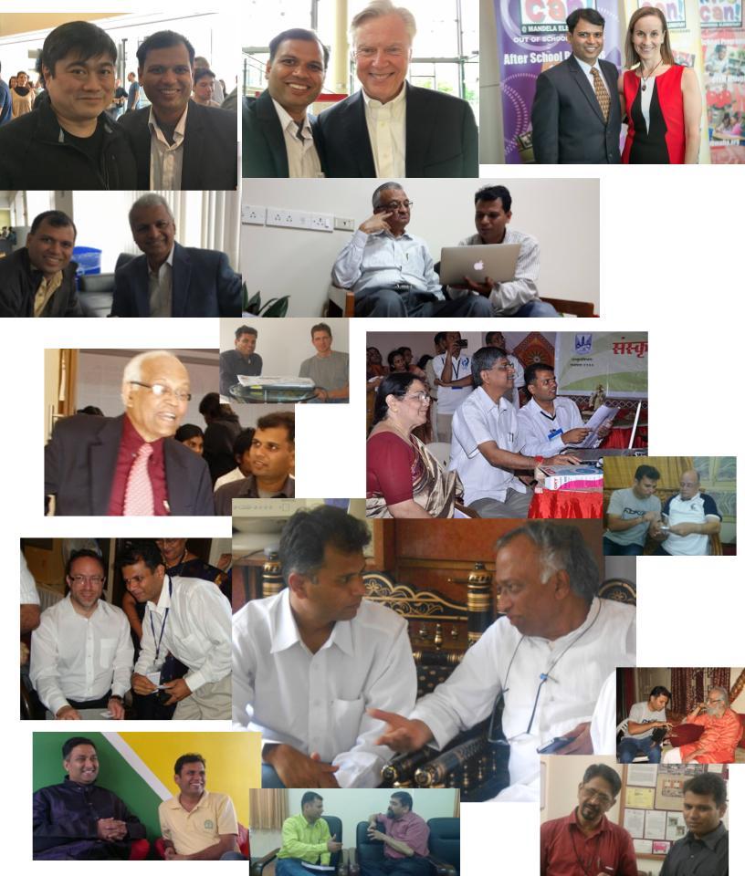 Sunil Khandbahale with Joi Ito, David Schmittlein, Laura Jana, Desh Deshpande, Anil Kakodkar, R A Mashelkar, Vijay Bhatkar, Jimmy Wells