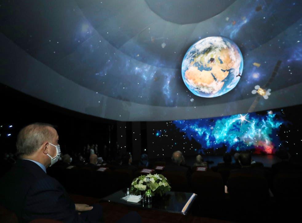 Turkey unveils space program including 2023 moon mission ...