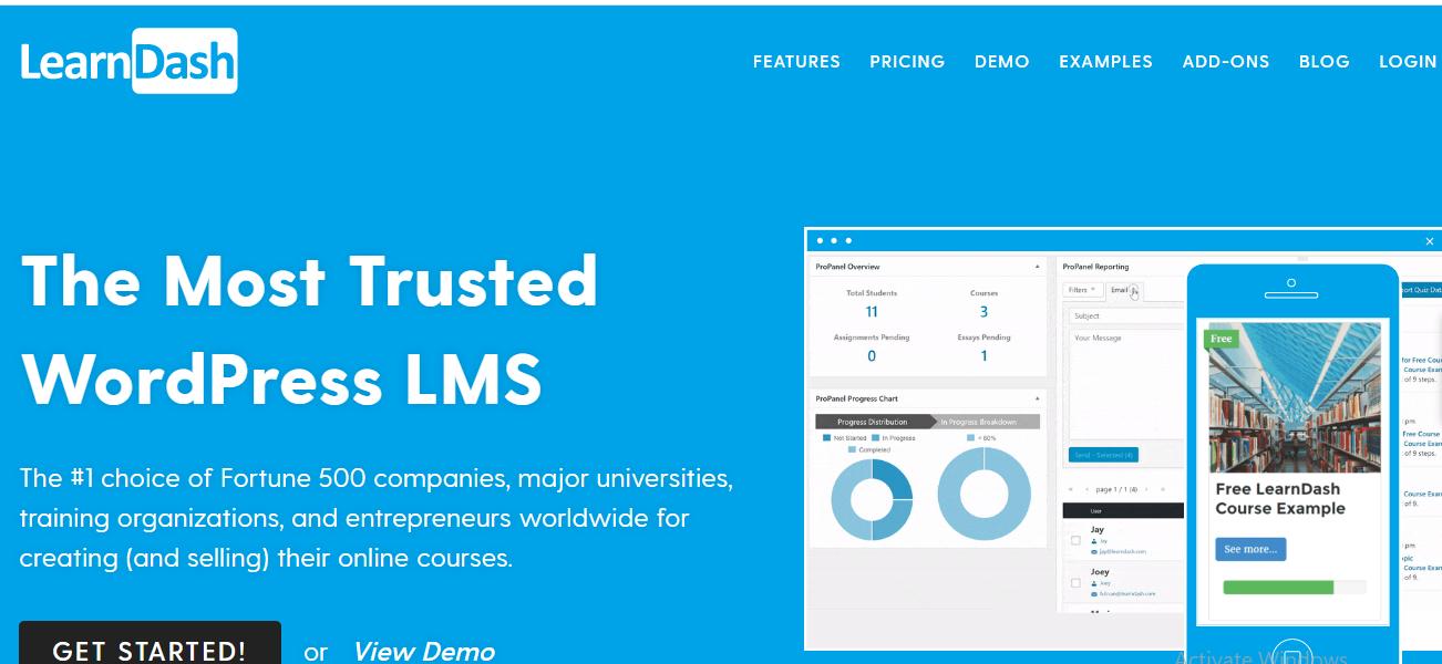 Online Course Platform - LearnDash