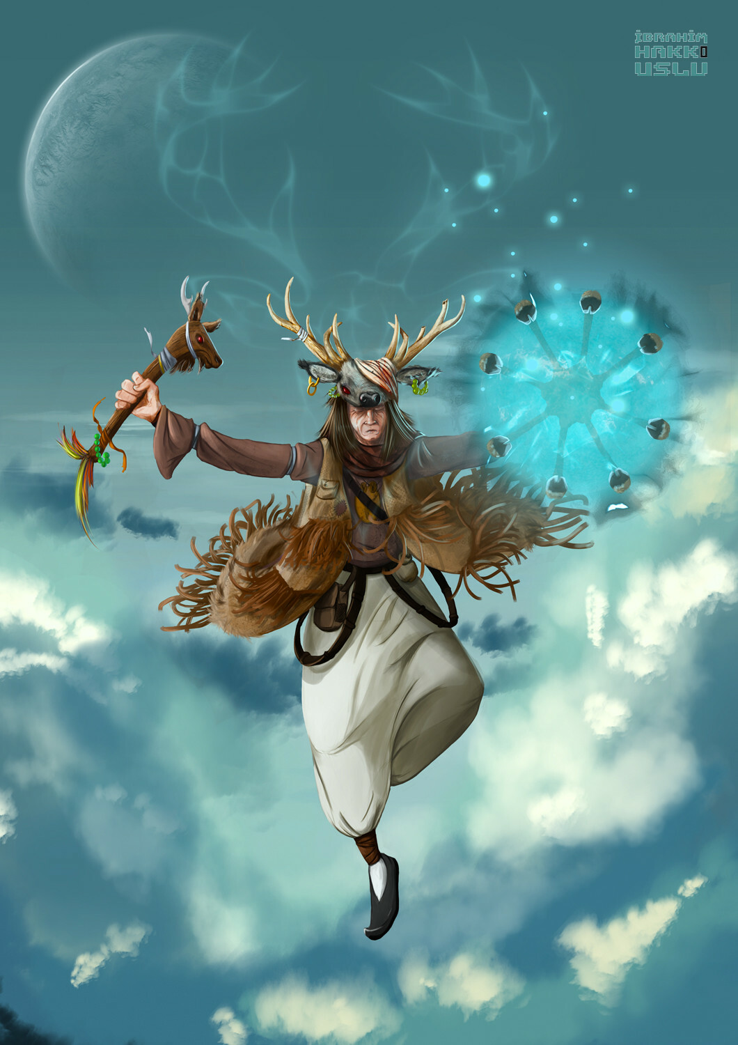 CG Artwork Shaman