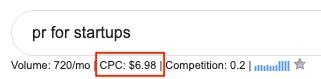 screenshot-keyword-cost-per-click-prforstartups