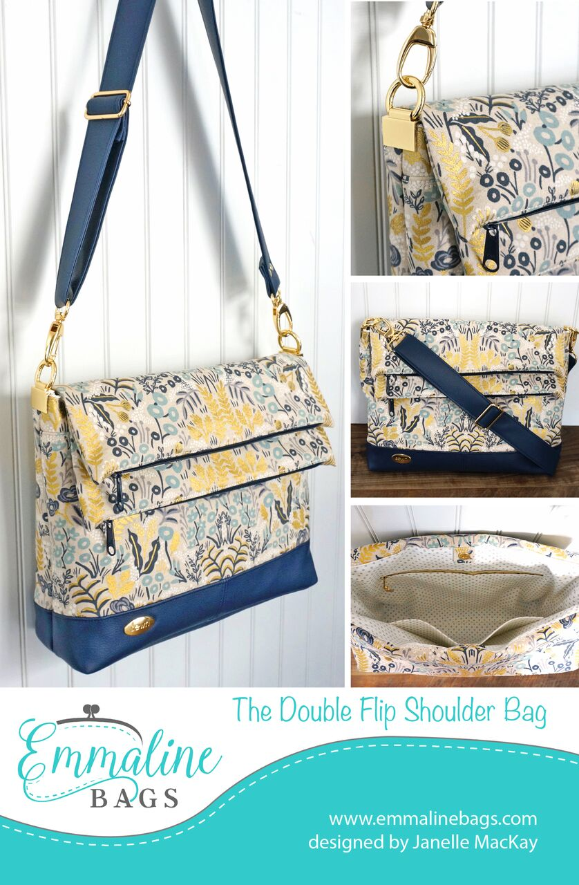 Emmaline Bags: Sewing Patterns and Purse Supplies: The Double Flip ...