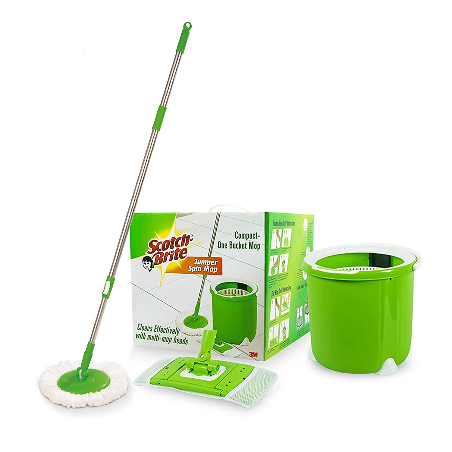 Scotch-Brite Jumper Spin Floor Cleaning Mop