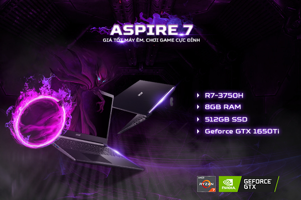 top 8 laptop gaming hot nhất 2021