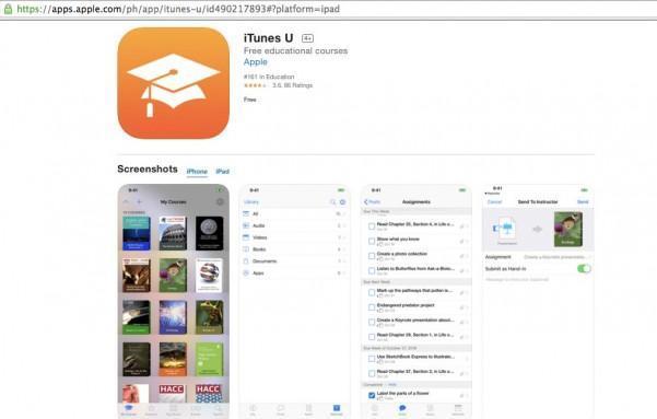 Học online từ nền tảng Apple