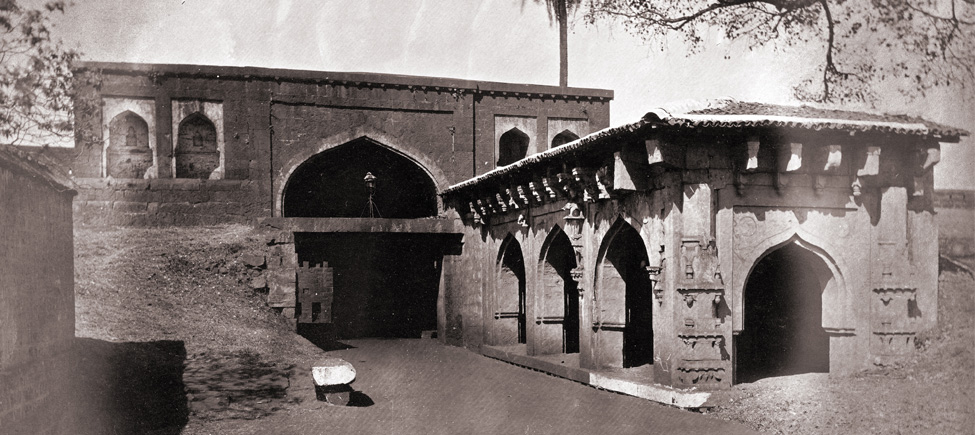 Old picture of Belgaum fort  from the past time