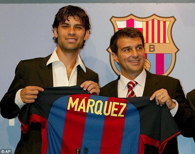 Kỳ cựu Rafael Marquez cuả Barca dính líu tới tuyến phố dây ma túy