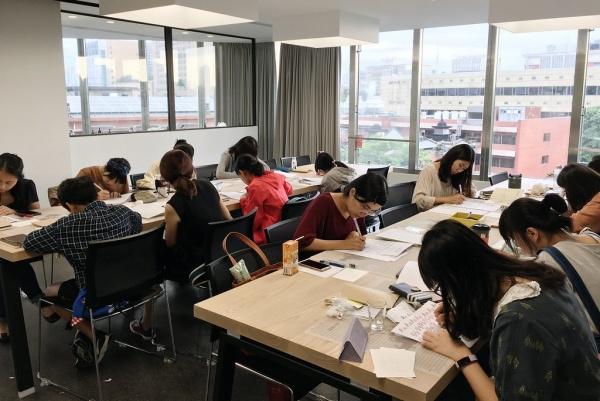 品品學堂-活動-手寫英文書法
