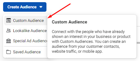 Use custom audience to target competitors followers.