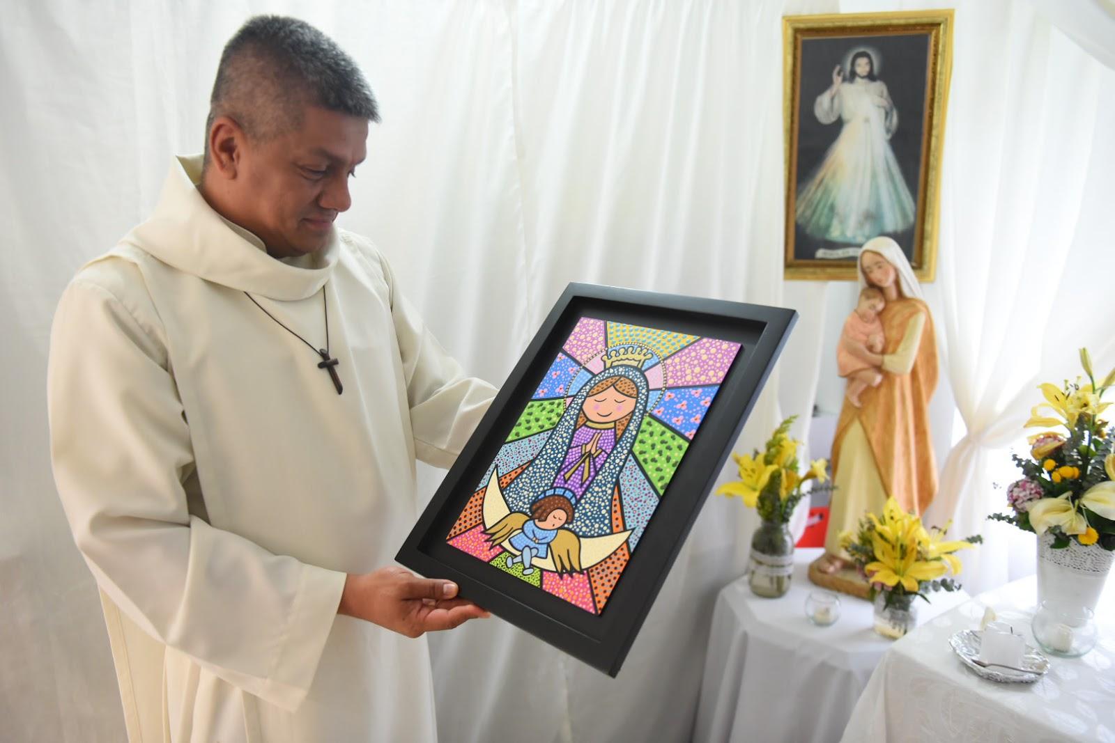 Các trẻ em bị nhiễm HIV được ôm Đức thánh Cha tại Villavicencio