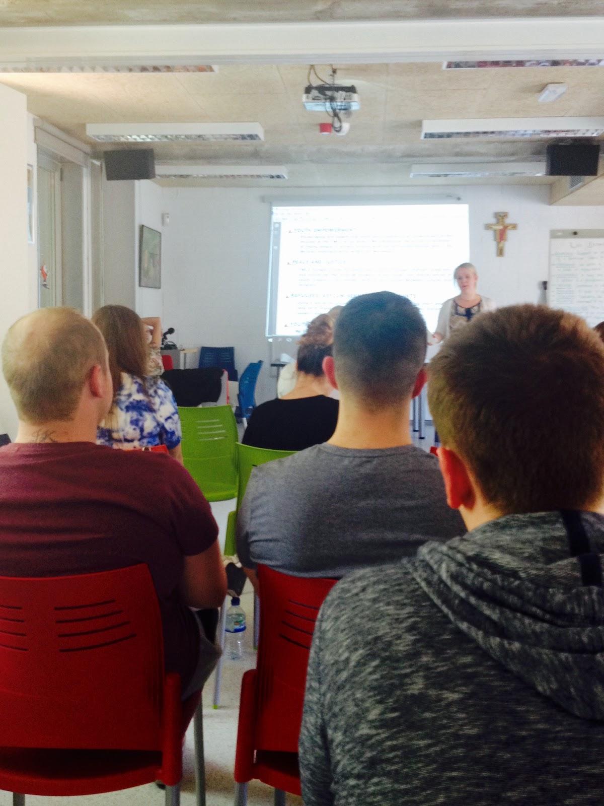 Participants engaging at YES Seminar Madrid 2016