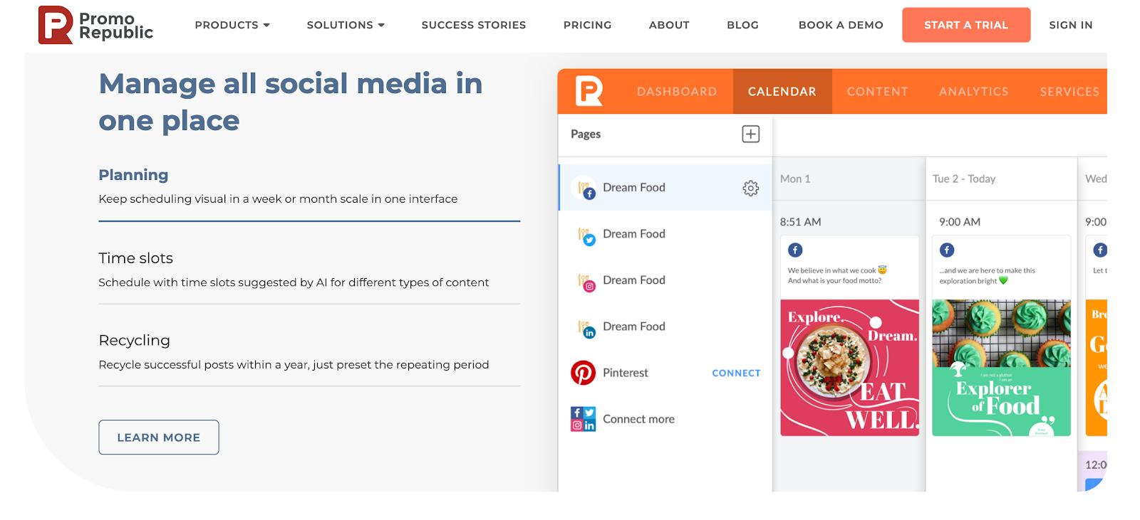 Promo Republic - Social Media Content Management
