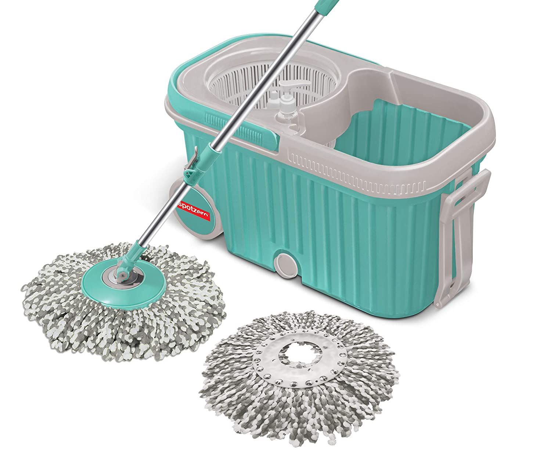 Spotzero By Milton E-Elite Spin Floor Cleaning Mop