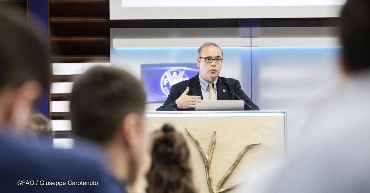 Inside FAO's new partnership with the European Space Agency