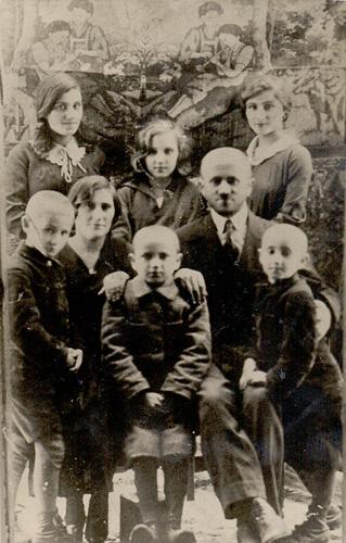 Семья Фани Розенфельд. 1930-е годы