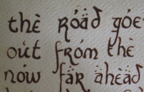 red book bilbo writes in