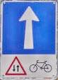 Circulación a contrasentido permitida a bicis
