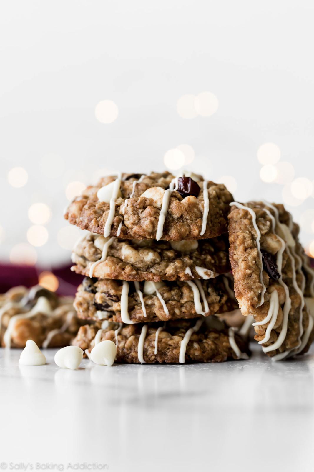 photo of cherry white chocolate cookies
