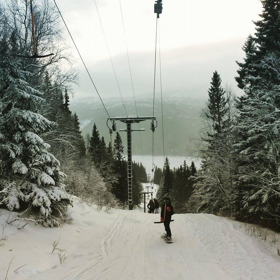 ski tourism and locals