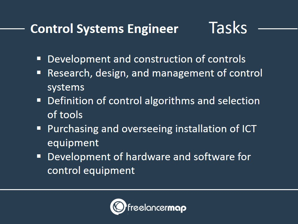 Responsibilities and daily tasks of a Control Systems Engineer