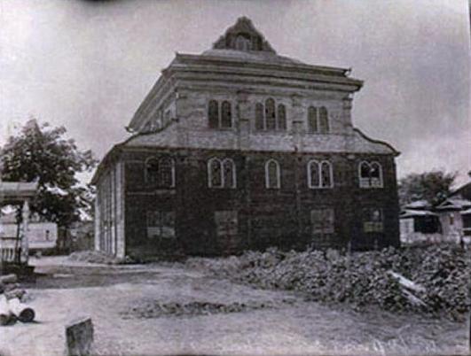 Чернобыль начала ХХ в. Синагога