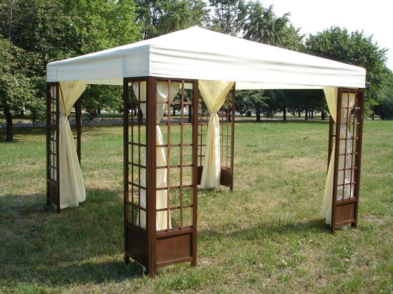 Как выбрать и где узнать цену на шатры для дачи