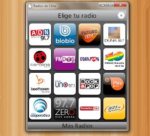 aplicación radios chilenas para chrome