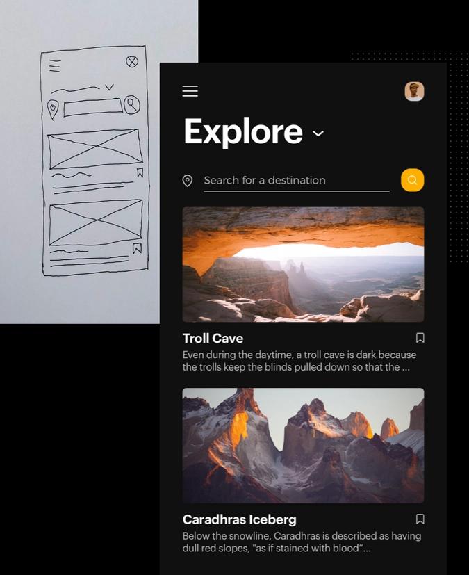 User Interface Design Trends - Uizard Interface: UI design course details