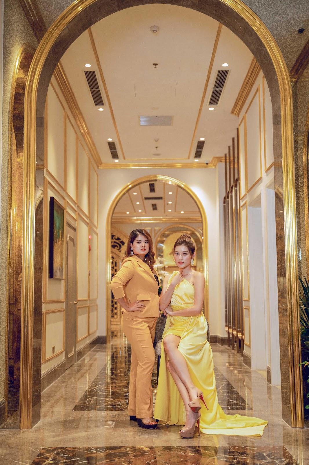 Á hậu Huyền My và dàn thủ lĩnh của Linh Nham Group - Ảnh 4