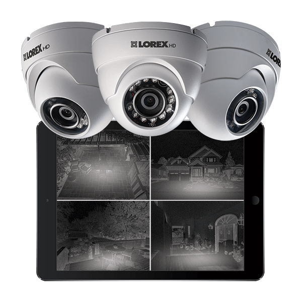 HD night vision bullet IP cameras