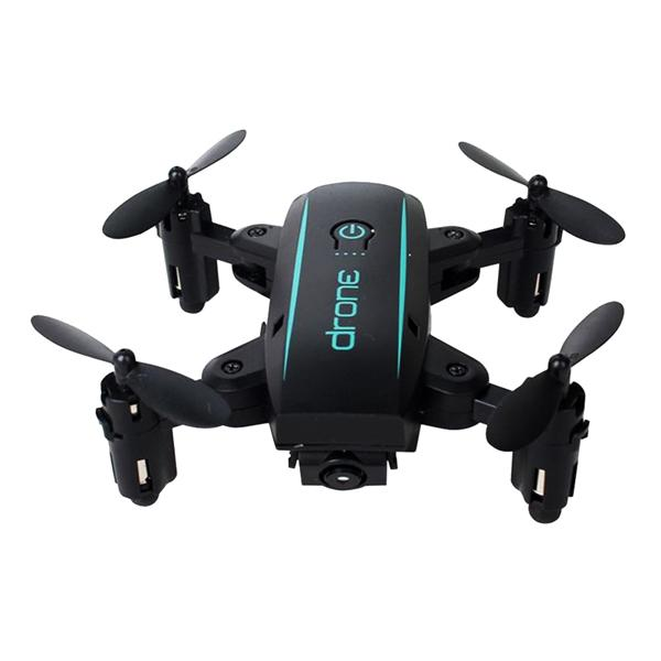 Linxtech IN1601 Mini Foldable Remote Control Drone with Wifi and Camera