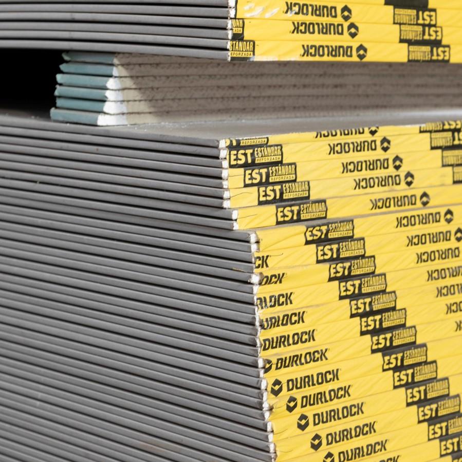Posición horizontal para almacenar placas de Durlock
