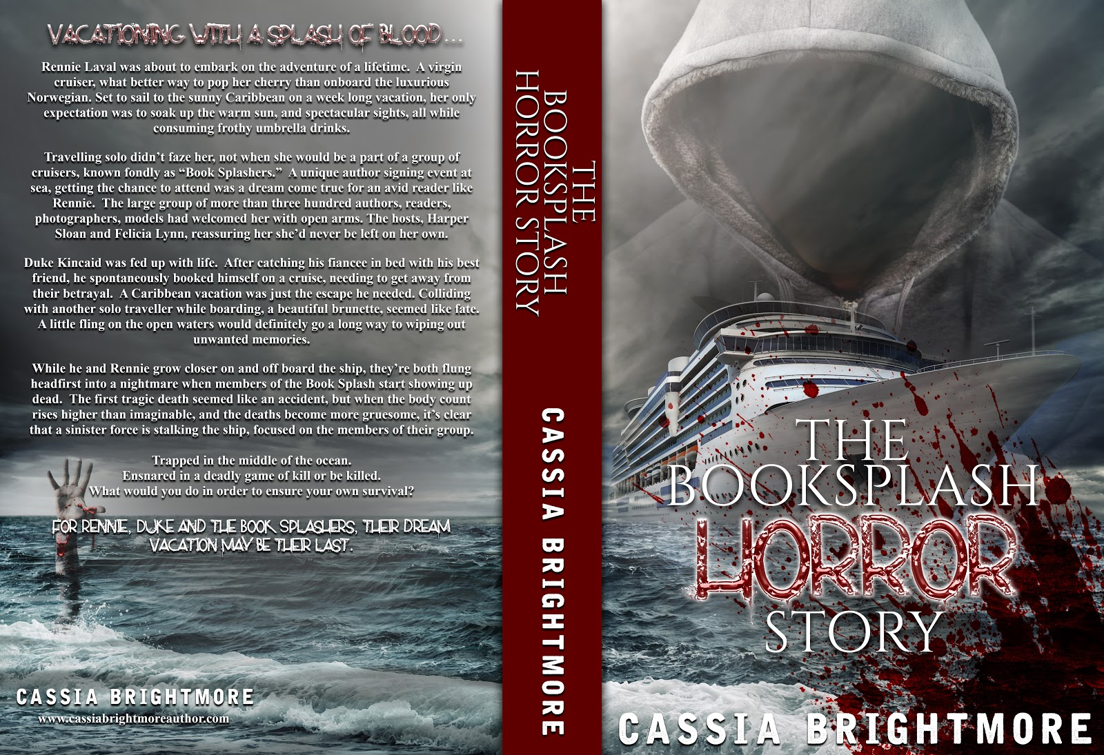 Cover Reveal: The Booksplash Horror Story by Cassia Brightmore