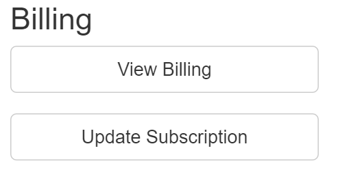 view billing download receipts and add company details customer