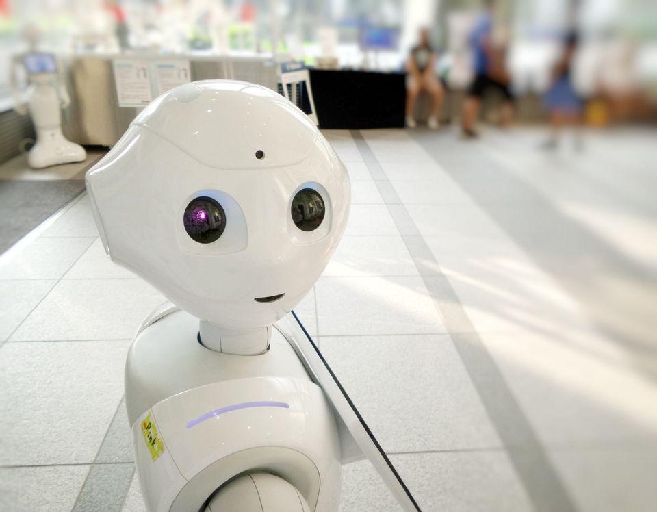 I, Robot? Photo by Franck V.